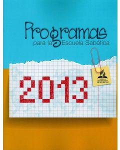2013 Programas