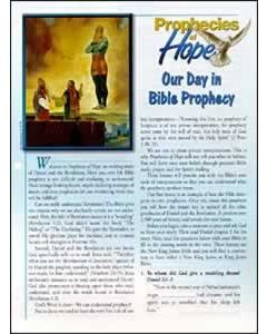 Prophecies of Hope, 01, Our Day in Bible Prophecy, pkg of 50