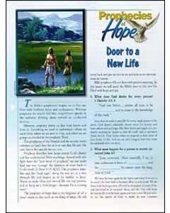 Prophecies of Hope, 18, Door to a New Life, pkg of 50