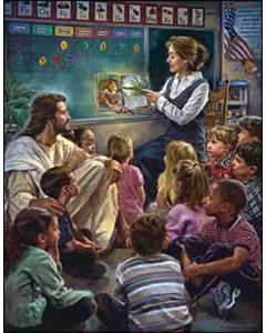 Jesus in the classroom Church Bulletin 509 (pkg of 100)