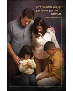 Keep Your Wants, Your Joys, Your Sorrows, Your Cares, Before God Church Bulletin 905 (pkg of 100)
