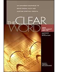 The Clear Word New Testament MP3 CD