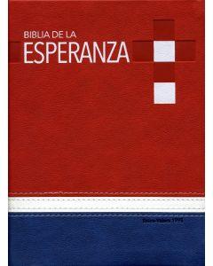 Biblia De La Esperanza - Español (Reina-Valera 1995) Rojo/Azul