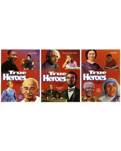 True Heroes 3-volume Set: Stories and Values to Triumph
