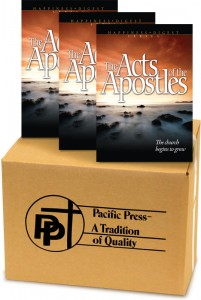Acts of the Apostles book cover