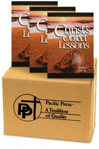 Christ's Object Lessons book cover
